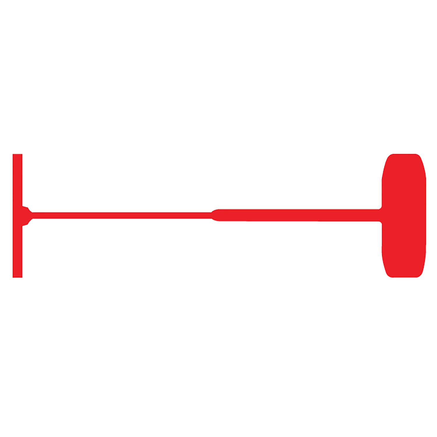 "1"" Red Standard Fasteners - TAGS-43011"