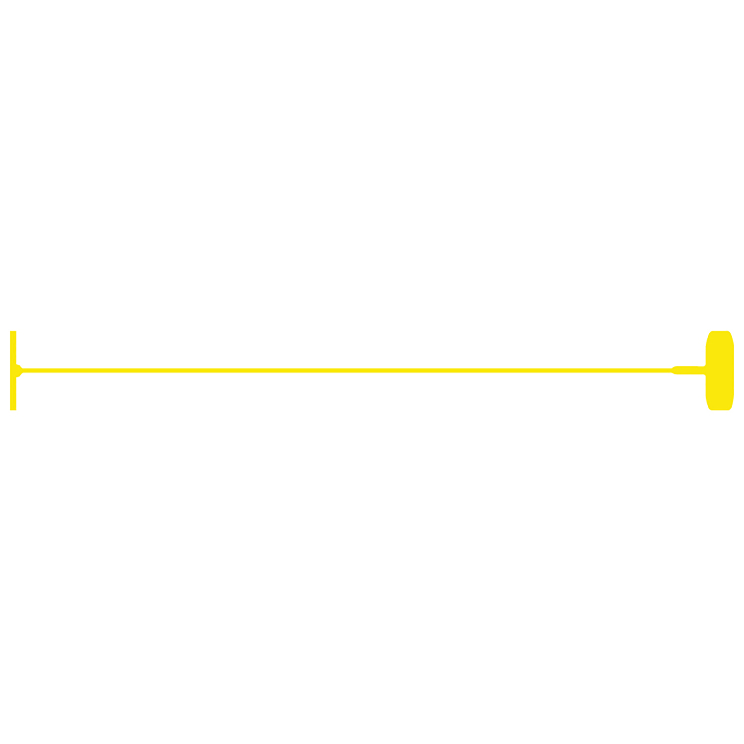 "3"" Yellow Standard Fasteners - TAGS-43033"