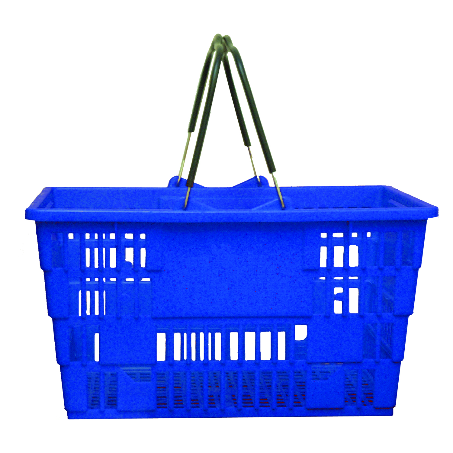 Jumbo Baskets, Blue (set of 16)