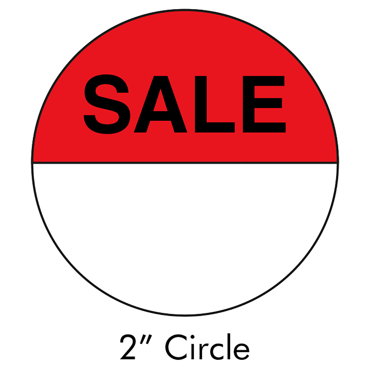 "2"" Sale Sticker - LMCCTL1440G"