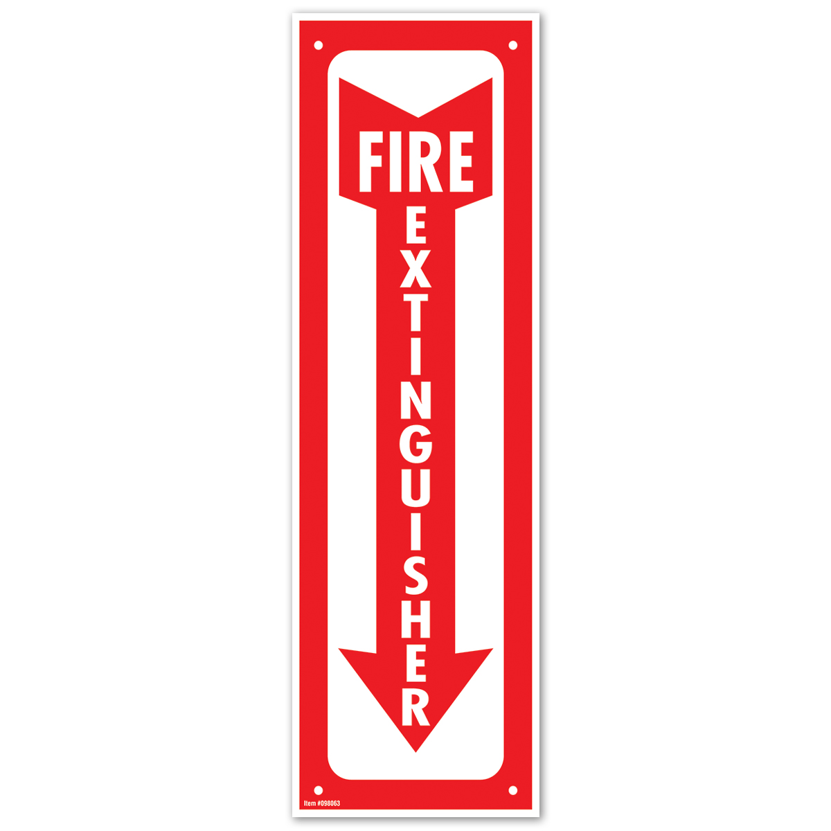 Glow-in-Dark FIRE EXTINGUISHER - 098063