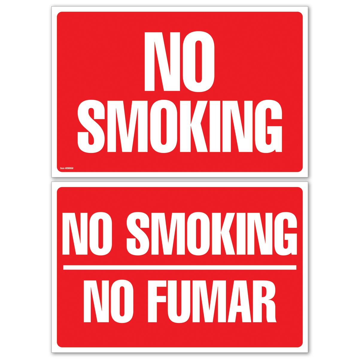NO SMOKING |NO SMOKING|NO FUMAR - 098068