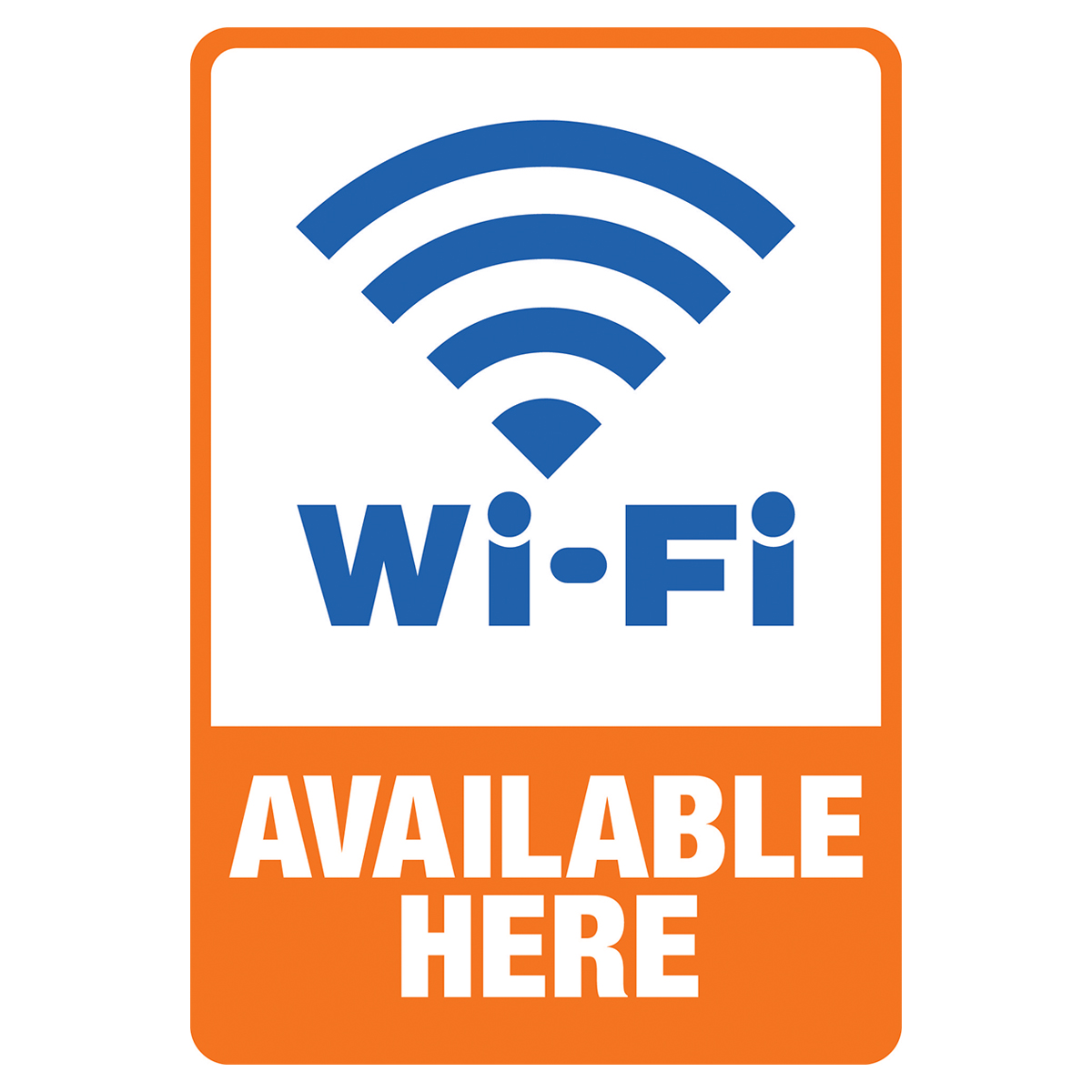 WiFi Available Here - Decal
