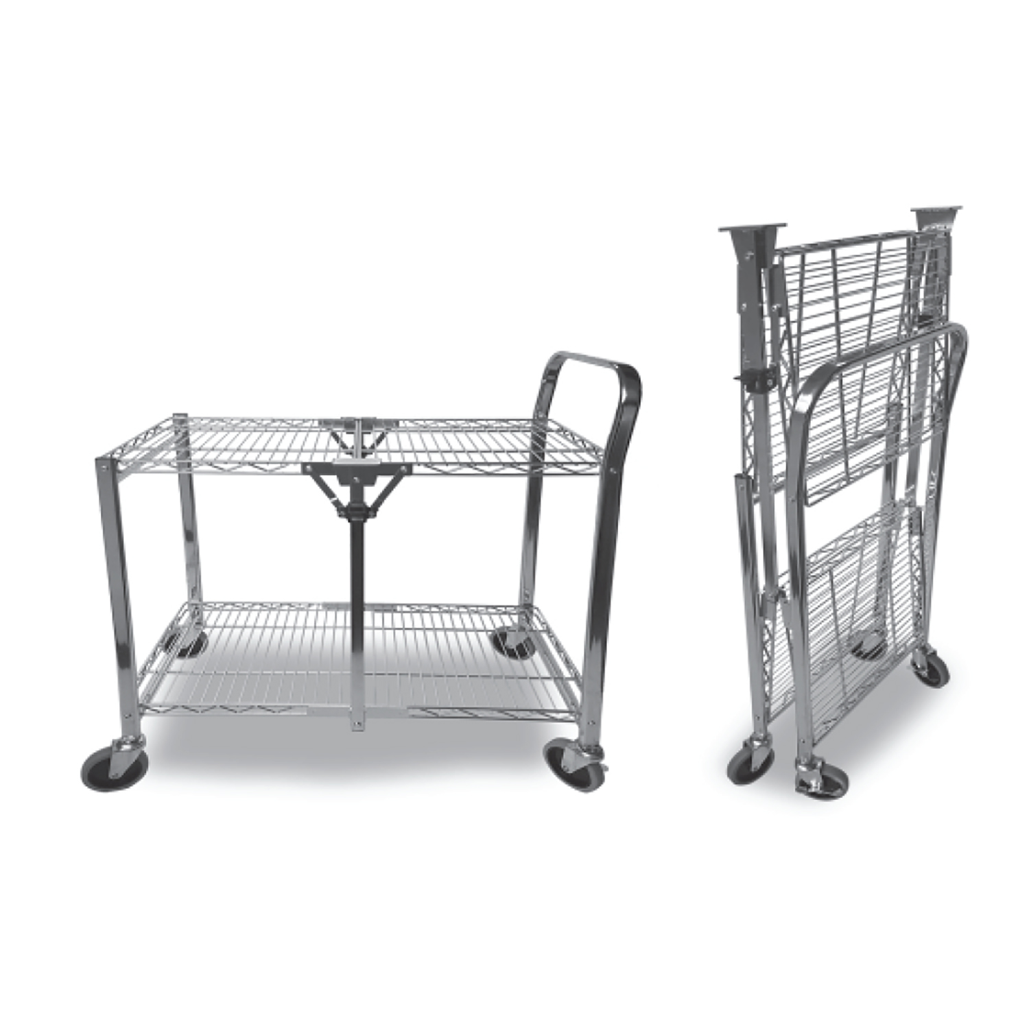 Large - StowAway Folding Utility Cart - STOW-07011