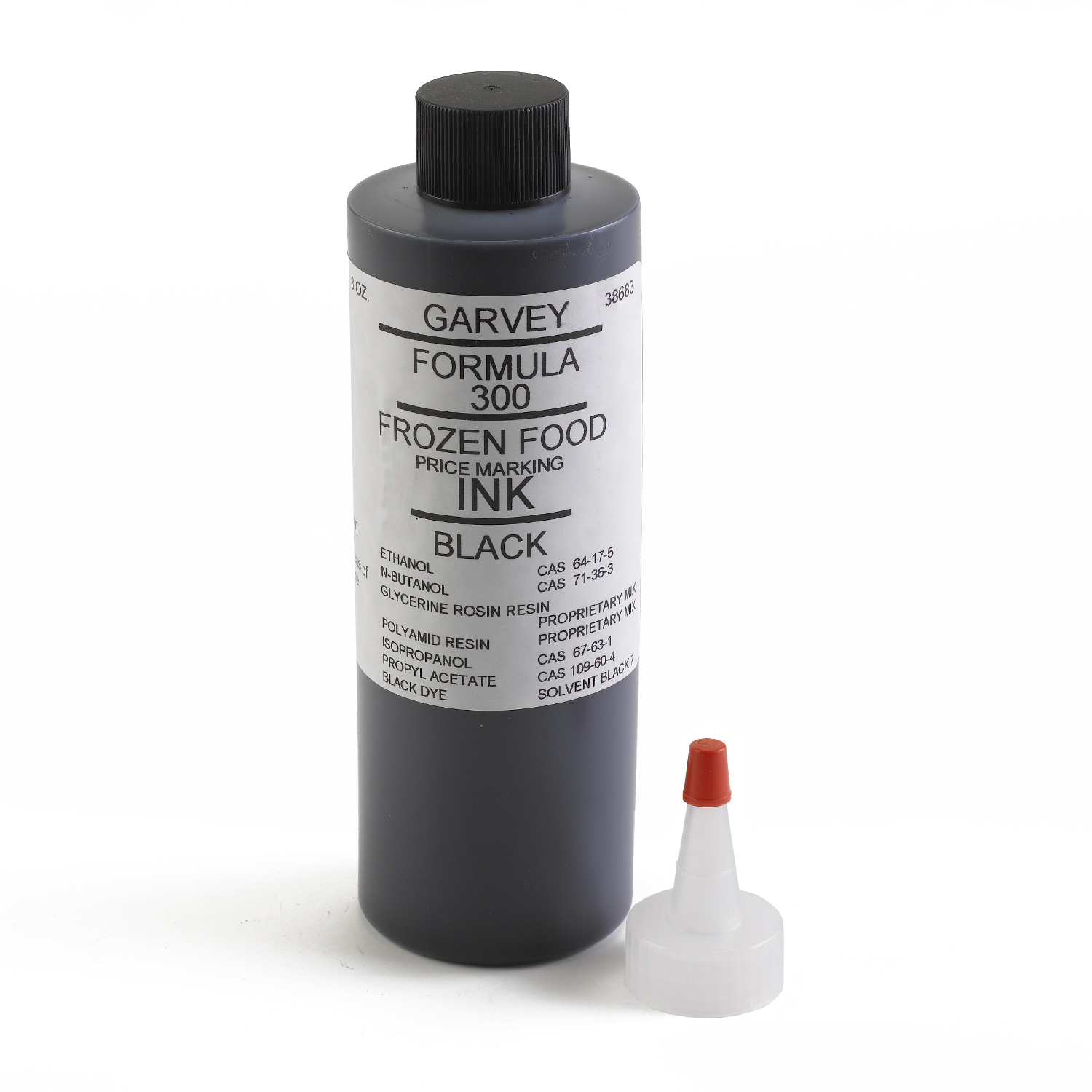 Garvey Freezer Grade Black Price Marking Ink 8 oz - INK-38683