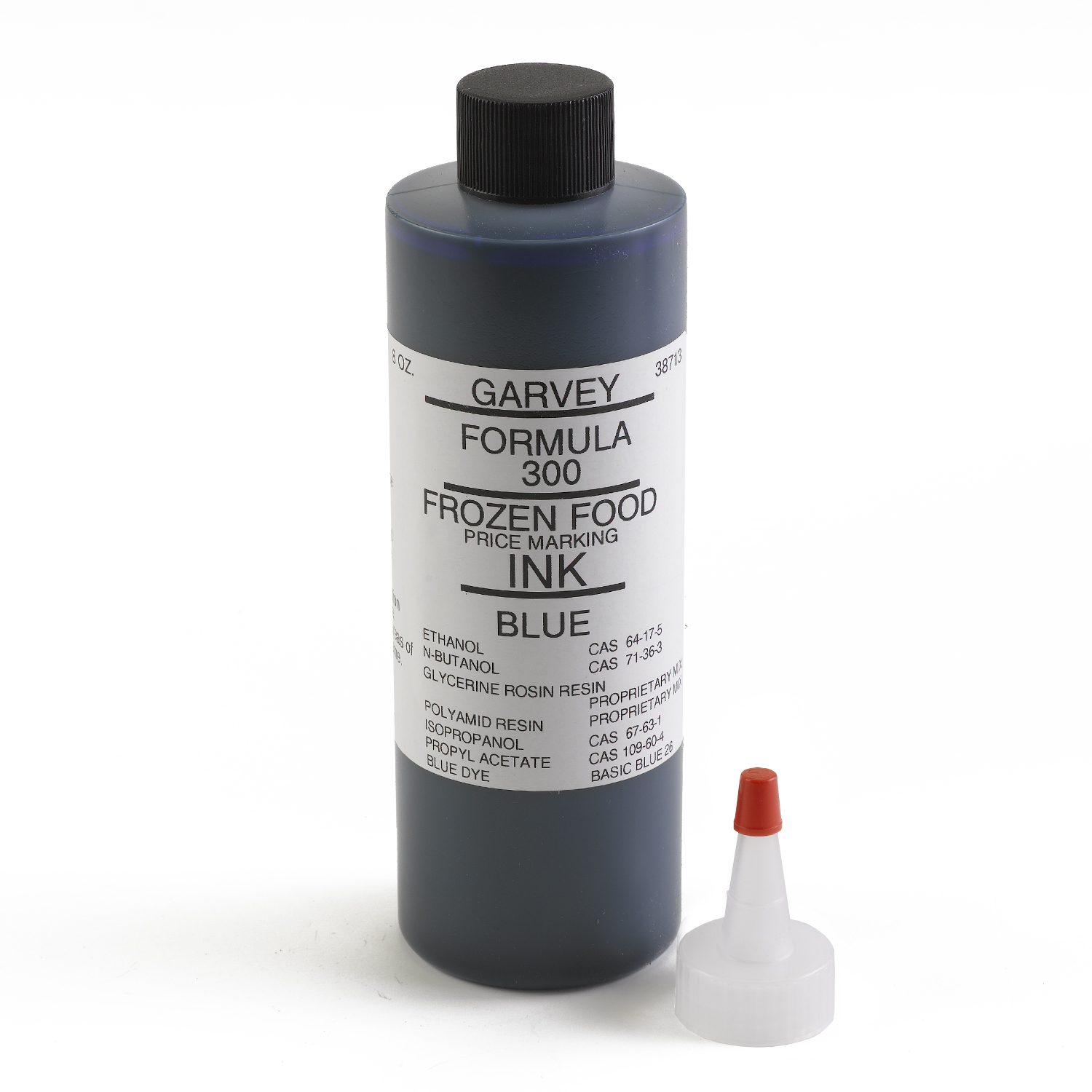 Garvey Freezer Grade Blue Price Marking Ink 8 oz - INK-38713