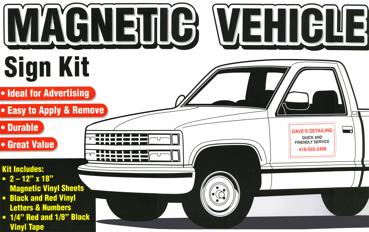 magnetic car signs are - photo #33